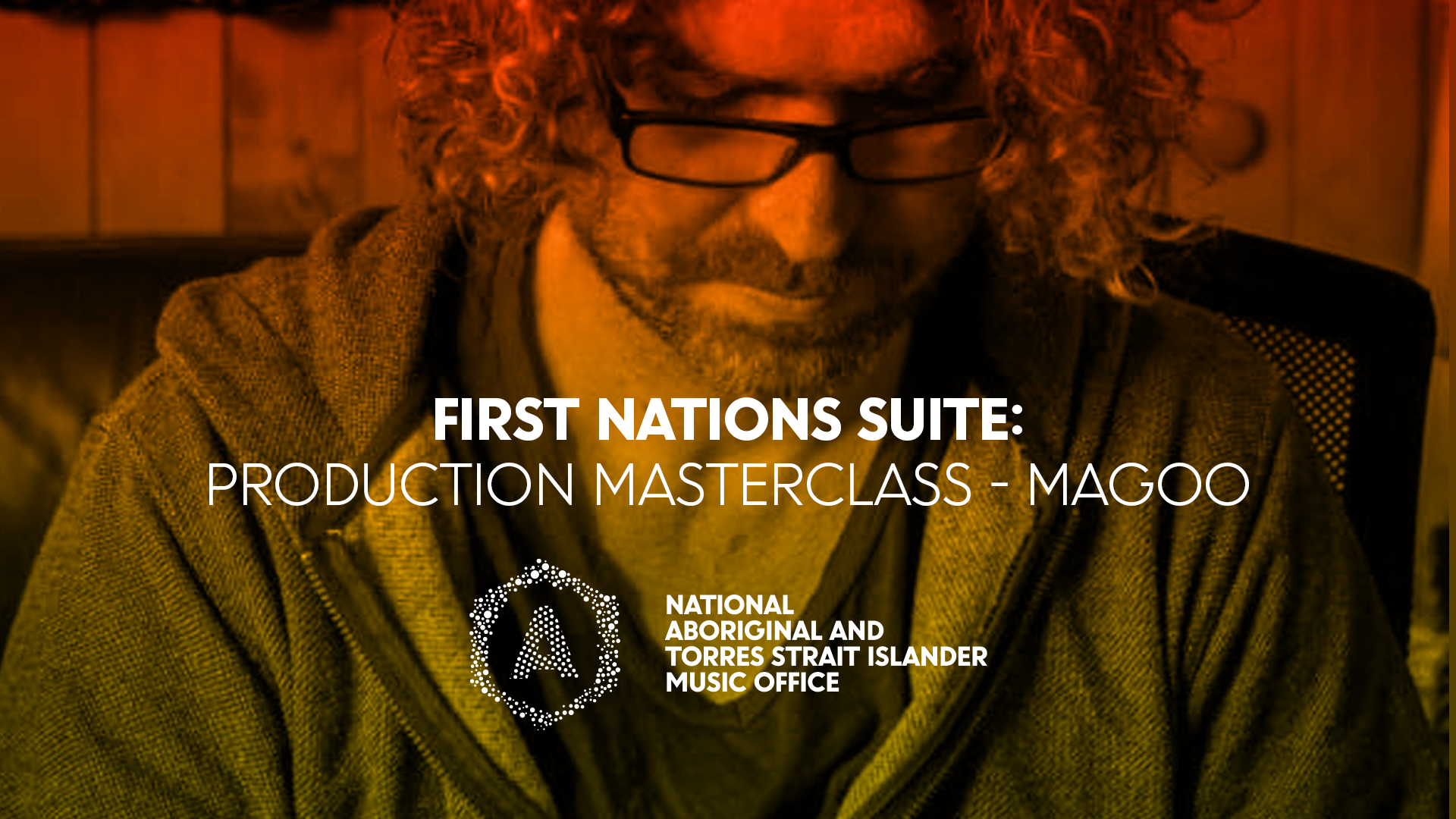 Sound engineer Magoo will be hosting NATSIMO's First Nations Suite production masterclass in February.