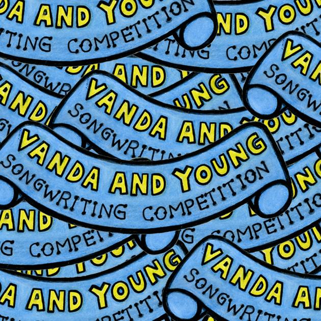 Vanda and Young layered logos